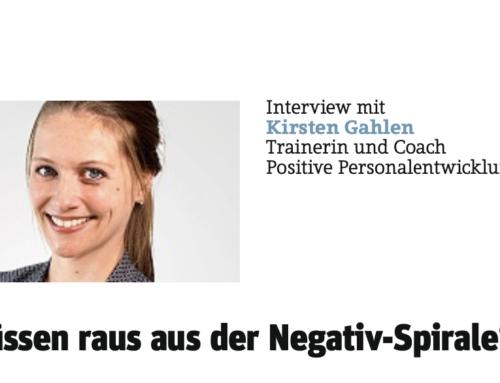"""""""Jeder kann seine Ängste besiegen"""" – Interview mit Coach Kirsten Gahlen"""